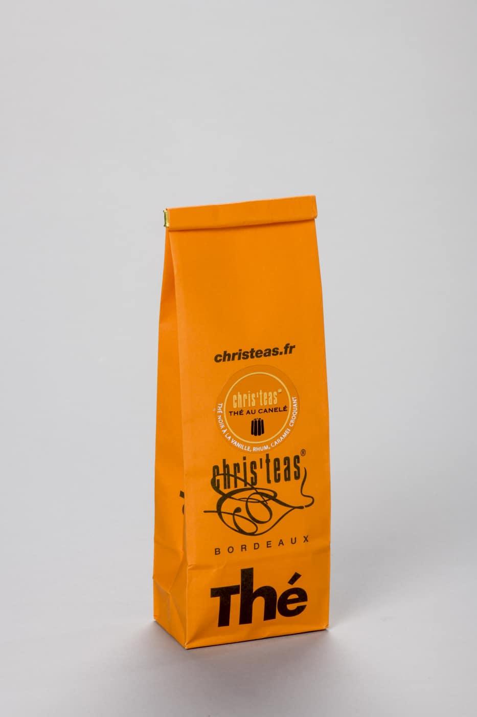 Boite de thé au canelé 12 sachets