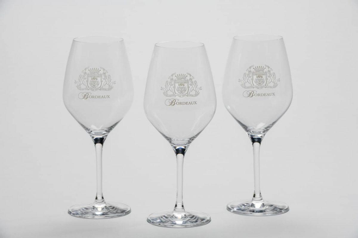 Le verre à dégustation Armoiries de Bordeaux