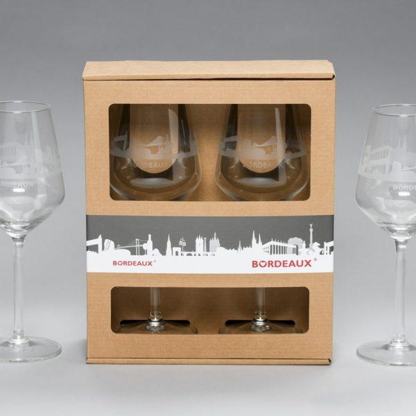 Coffret 2 verres à vin