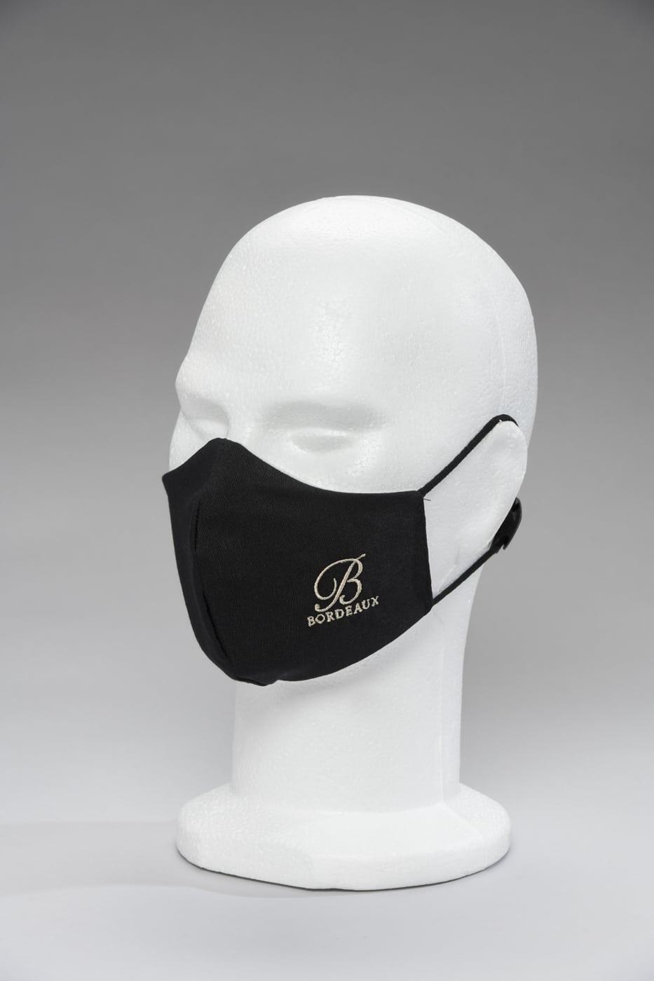 Masque noir Bordeaux