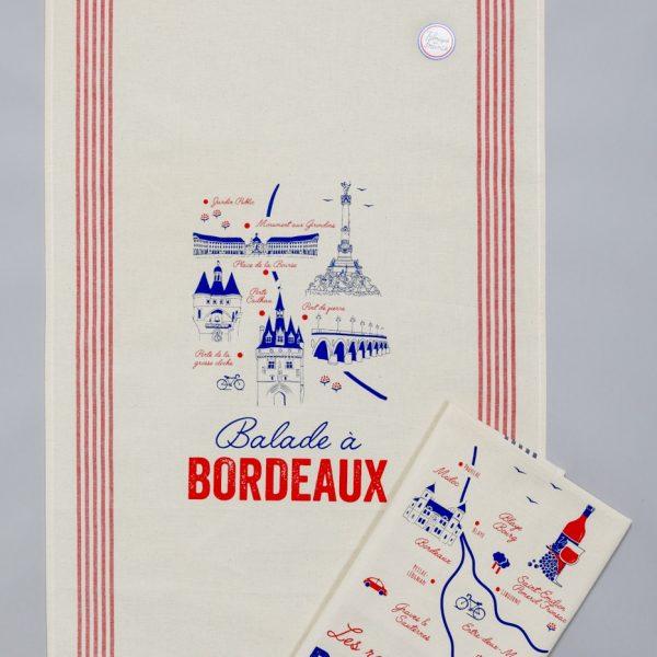 Torchons «Tissages de l'ouest» - Balade à Bordeaux