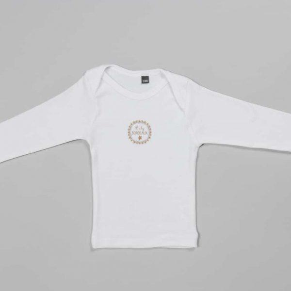T-shirt manches longues «Baby Bordeaux»