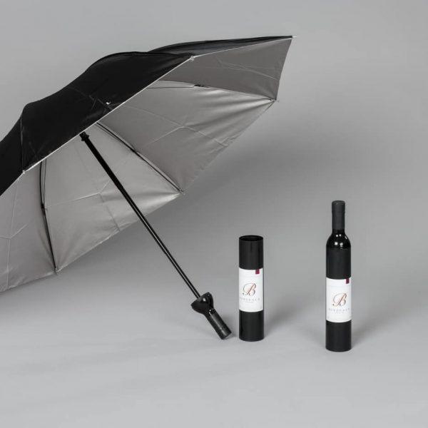 Parapluie bouteille de vin