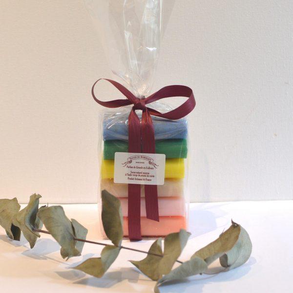Savon de Bordeaux - Sachet cadeau de 6 savons