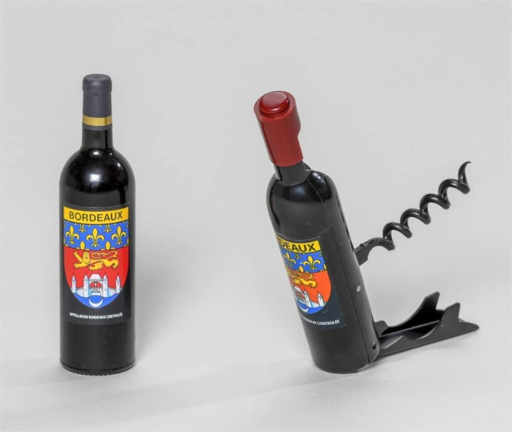 Magnet tire-bouchon armoirie de Bordeaux