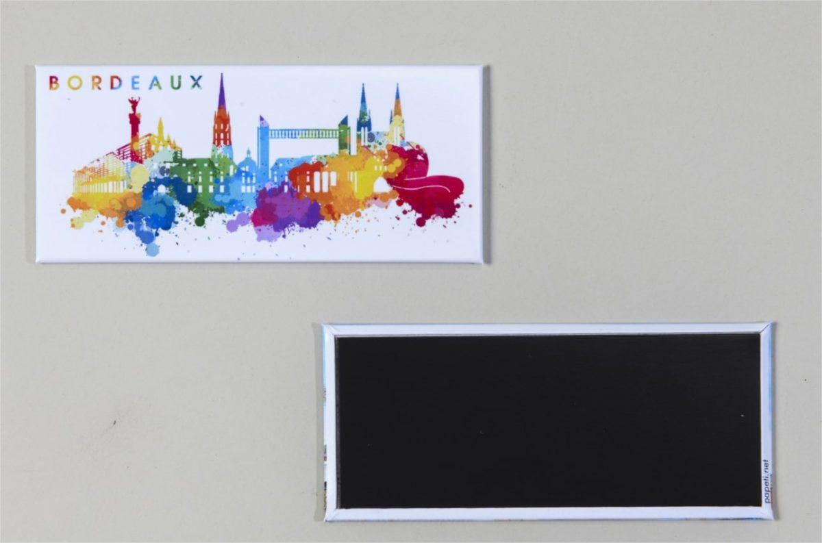 Magnet couleurs Bordeaux